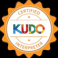 certificirani KUDO prevoditelj